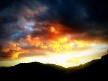 Huczenia niebo! Fotografia Stock