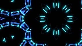 HUD χρωματίζει τη διακοσμητική νέα ποιότητα βρόχων υποβάθρου ζωτικότητας σχεδίων καλειδοσκόπιων εθνική φυλετική psychedelic ολογρ διανυσματική απεικόνιση