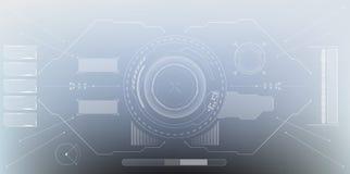 HUD-Anzeige Digital-Elemente Stockfotos