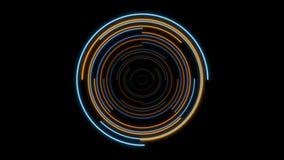 HUD Element en estilo del holograma stock de ilustración