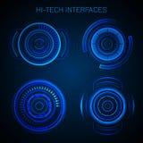 Hud Interface futuristico illustrazione vettoriale