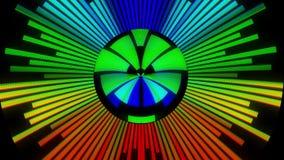 HUD le gusta digital fresco alegre colorido animado dinámico universal del arco iris de la forma redonda calidad única suave de l libre illustration