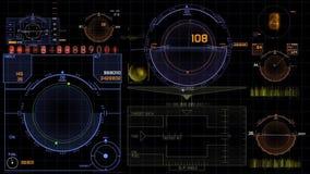 HUD Scifi. Futuristic Scifi Hud control panel