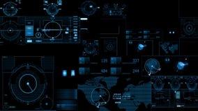 HUD Scifi vector illustration