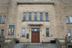 Huddersfield Art Gallery Photographie stock