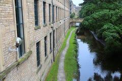 Huddersfield kanal arkivbilder
