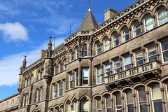 Huddersfield, UK. Town in Kirklees region of West Yorkshire. Old architecture Stock Photos