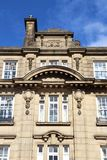 Huddersfield. UK - town in Kirklees region of West Yorkshire. Old architecture Royalty Free Stock Photos