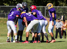 The Huddle Stock Images