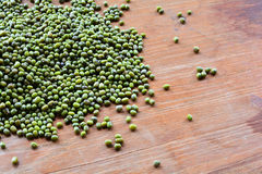 Huddle Green mung beans Royalty Free Stock Photo