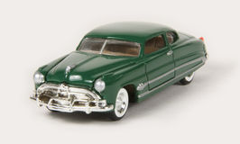Hudson 1951 Hornet. 1951 Hudson Hornet, Racing Champions Mint Edition (left front high angle view Stock Photography