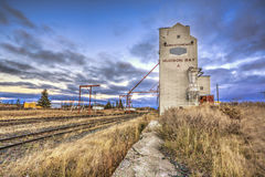 Hudson Bay Grain Elevator Royalty Free Stock Image