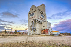 Hudson Bay Grain Elevator Stock Photography