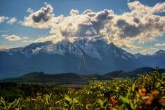 Hudson Bay Mountain - humeur de ressort photos stock