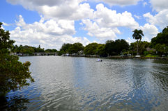 Hudson Bayou in Sarasota Stockbilder