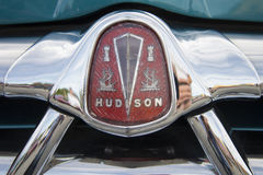 1951 Hudson, detail of the grill Royalty Free Stock Photo