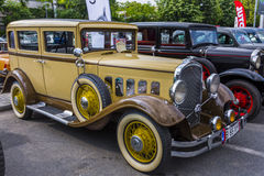Hudson Eight 1930. Classic american cars Hudson Eight 1930. Photo taken on May 31, 2015 in Bucharest, Romania Royalty Free Stock Photo