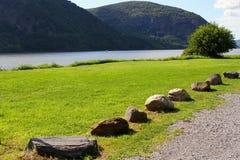 Hudson-Fluss lizenzfreies stockfoto