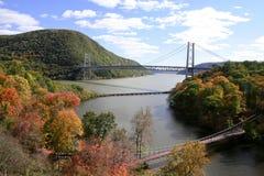 Hudson-Fluss Stockbild
