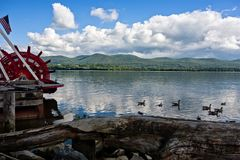 Hudson-Fluss szenisch Stockfotografie