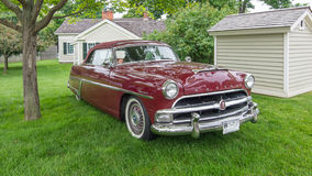 1954 Hudson Hornet. DEARBORN, MI/USA - JUNE 20, 2015: A 1954 Hudson Hornet car at The Henry Ford (THF) Motor Muster, held at Greenfield Village Royalty Free Stock Photo