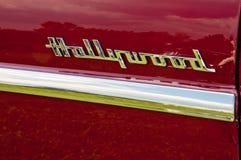 1953 Hudson Hornet Hollywood side detail Royalty Free Stock Photo