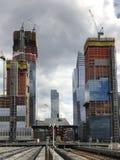 Hudson jardy - Miasto Nowy Jork zdjęcia stock