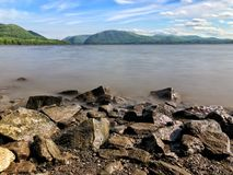 Hudson River Fotografie Stock Libere da Diritti