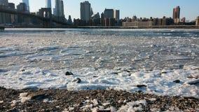 Hudson River Arkivfoto