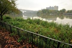 Hudson River Bronx NYC lizenzfreies stockfoto