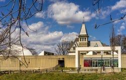 Hudson River Museum i Yonkers Arkivfoto