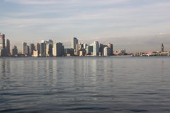 The hudson river and new jersey skyline Stock Photography