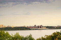 The Hudson River, New York and New Jersey Stock Photography