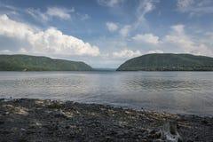 Hudson River och Hudson Highlands arkivbilder