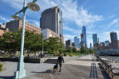 Hudson River Park, NYC Stock Photos