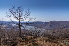 Hudson River pasa por alto Imagen de archivo libre de regalías