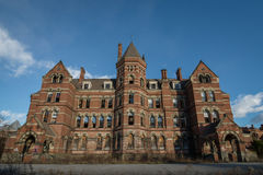 Hudson River Psychiatric Building. One of the buildings that makes up Hudson River Psychiatric Asylum Royalty Free Stock Photos