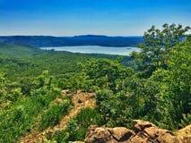Hudson River sbalorditivo Fotografia Stock Libera da Diritti