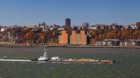Hudson River Shipping Photos stock