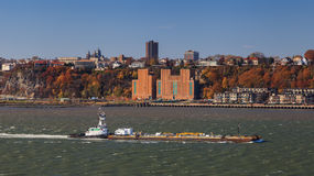 Hudson River Shipping Stock Photos