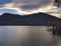 Hudson River Sunrise Fotografia Stock