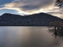 Hudson River Sunrise Photographie stock
