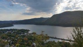 Hudson River Valley immagini stock libere da diritti