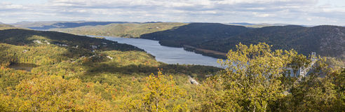 Hudson River Valley Panorama lizenzfreie stockfotografie