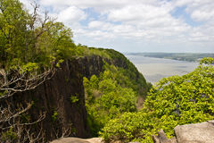 Hudson river. View of the hudson river from New jersey Stock Photo