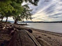 Hudson River vigoroso Fotografie Stock