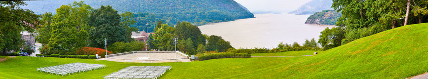 Hudson River at West Point Stock Image