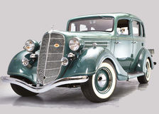 1935 Hudson Terraplane Royalty Free Stock Images