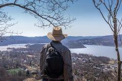 Hudson Valley donnent sur photo libre de droits