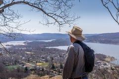 Hudson Valley pasa por alto Imagenes de archivo